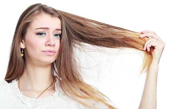 pelo dañado