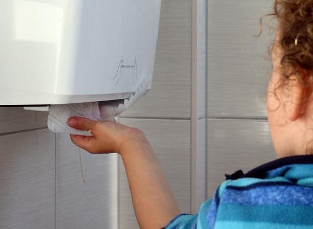 secar las manos