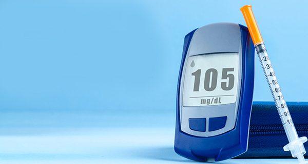 medición glucosa