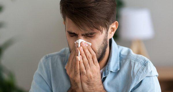 alergia y coronavirus