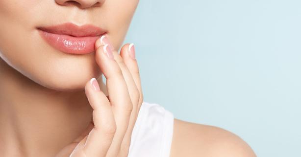 piel en invierno labios