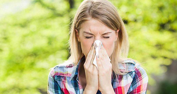 alergia primaveral destacada