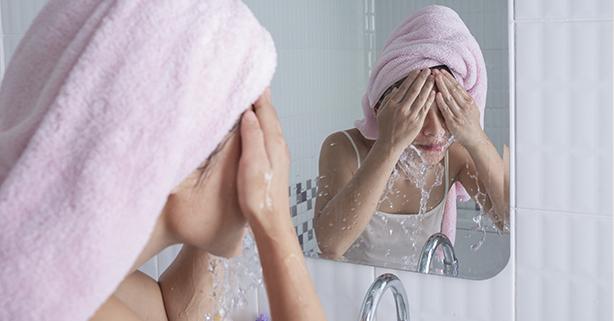 lavar cara